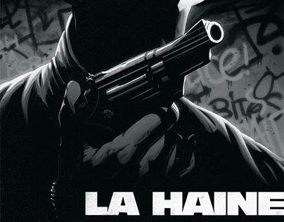"""""""La haine"""" Tribute poster"""