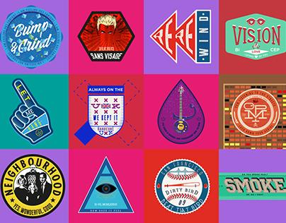Music Badges/Logos 2016-