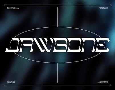 Jawbone Typeface