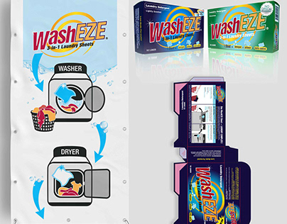WashEZE Retail Graphics