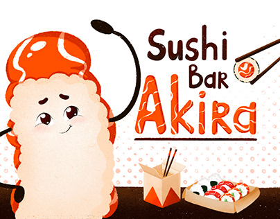 Brand Character for Sushi bar