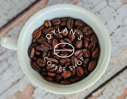 Dylan's Coffee Shop Branding design