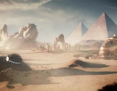 Ancient Aliens show open
