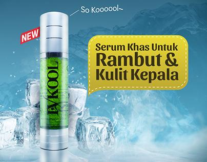 IV KOOL - Hair Treatment Serum FB Ads
