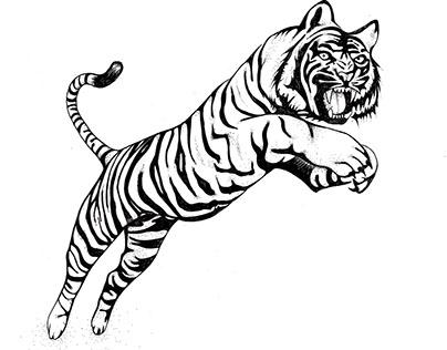Ilustración tigre