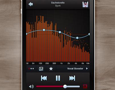 Denon Audio App UI Design