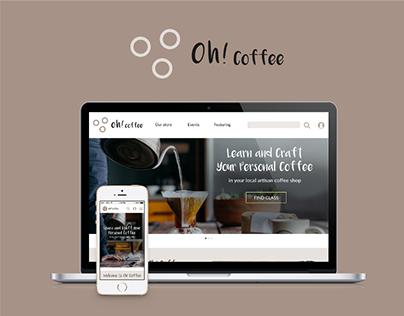 UX/UI Case Study - Oh! Coffee