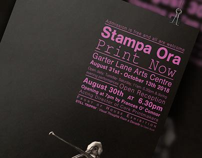 Garter Lane Exhibition : Stampa Ora