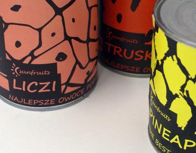 fruit packaging tin can - sunfruits