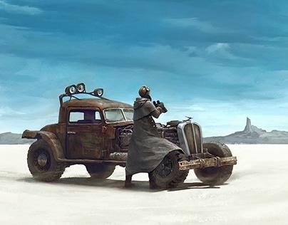 In Desert