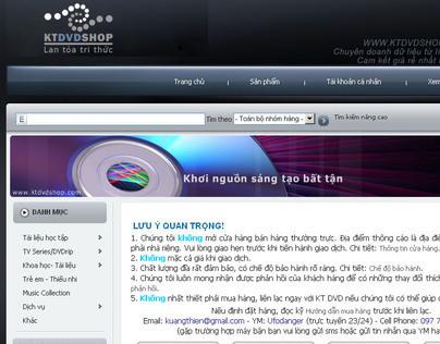 DVD Online Store