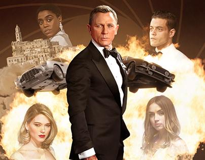 Fã-Posteres de 007: No Time To Die
