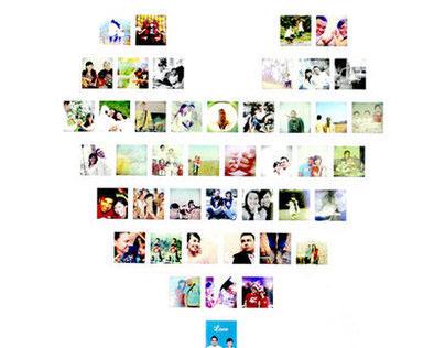 My Photo Booth : Polaroid Love
