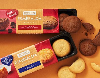 Esmeralda Cookies. Packaging Design