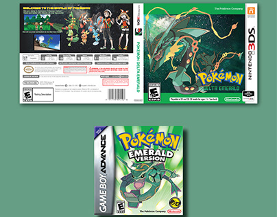 Pokemon Emerald Cover Remake