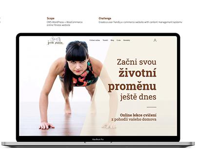 Zivotni promena Fitness website