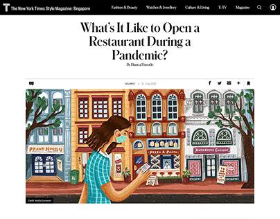 The New York Times Style Magazine Illustration