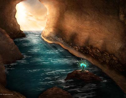 Illustration-Digital Painting- Hidden Path