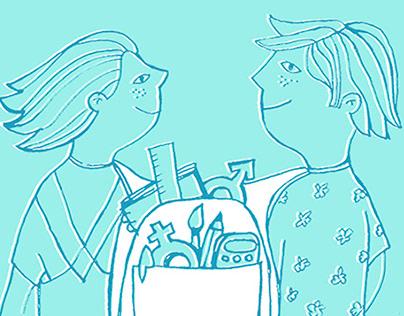Imagen campaña Cooeducación IAM