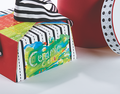Packaging for the Ceramic Cafe