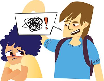 Ilustração/Animação: Bullying