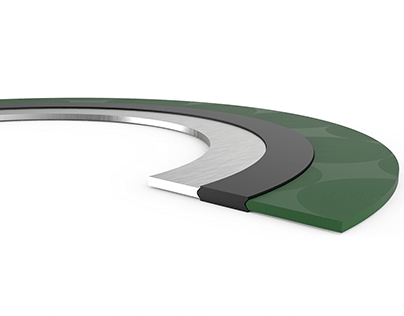 SW Gasket sectioned view