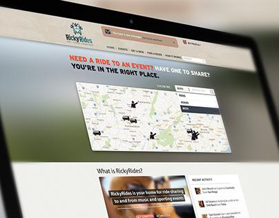 Ride Sharing Website