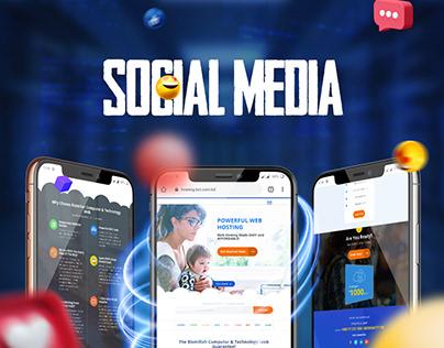 Social media Banner - Bismillah Computer & Technology
