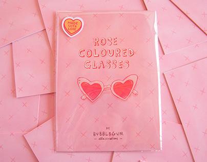 Rose Coloured Glasses - Zine