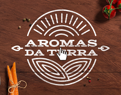 Aromas da Terra Landing Page + Blog
