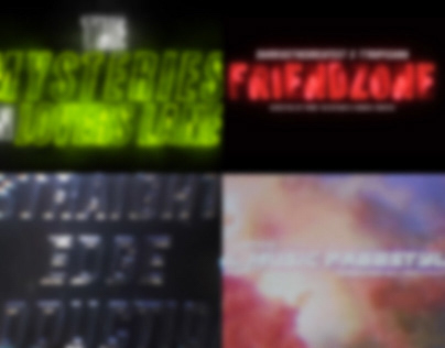 Title Sequences and Promos