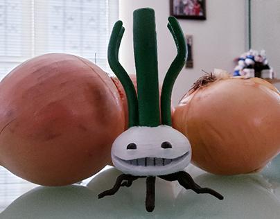 Smug Veggies: Allium (3D-Printed!)