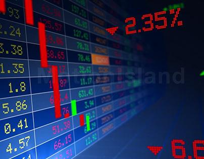 stock market news finance news animation stock market