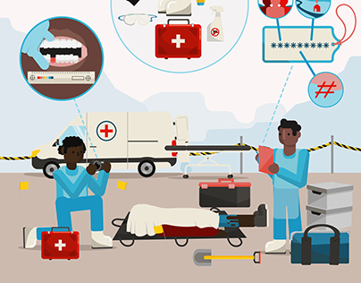 ICRC: Management after disaster