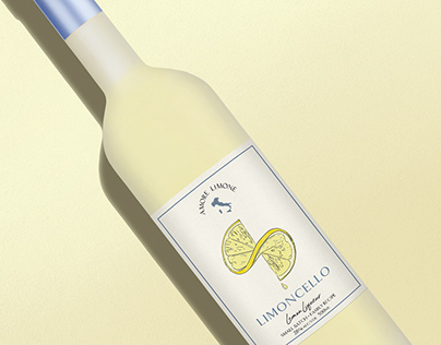 Limoncello Label & Packaging