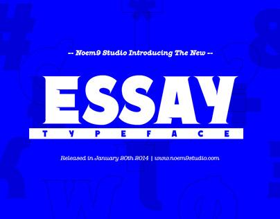ESSAY Typeface