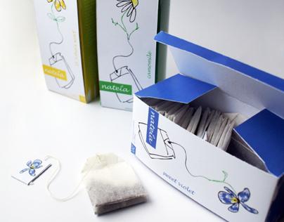 nateia - tea packaging