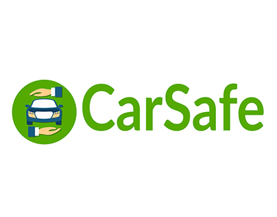 Carsafe logo & Mobile App icon UI