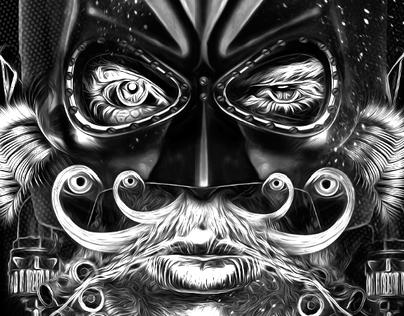 FANTASMAGORIK® BAT COMICS FACES