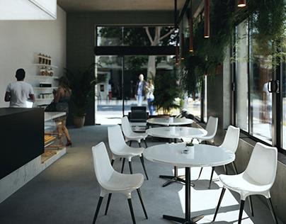 Valencia Street Coffee Shop