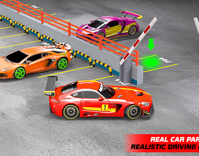 Car Parking 3D Driving Game: Car Parking Games New