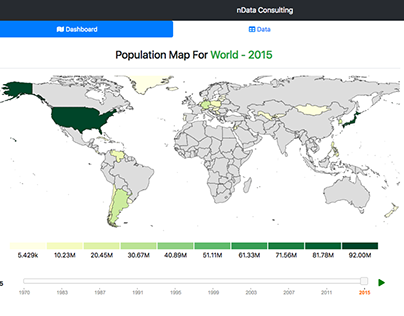 World & Country Population Map