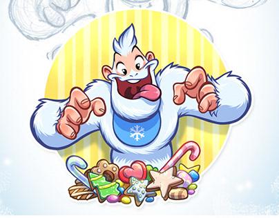 Stickers «Bigfoot Eddie»