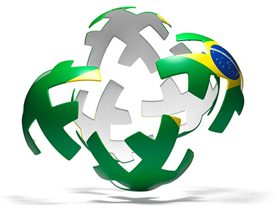 World Cup Balls   3d modelling
