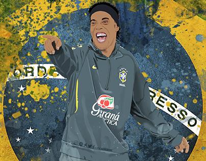 Ronaldinho Gaucho - Brazilian Football Superstar