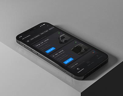 Arrival App Concept
