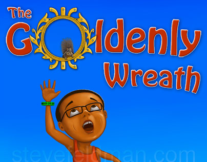 Children's Book Illustrations for The Goldenly Wreath
