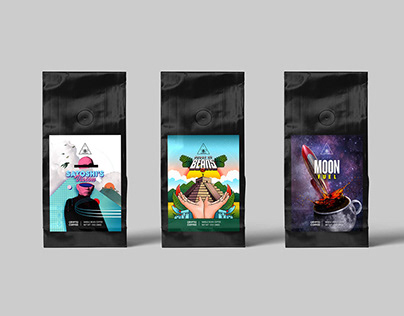 Crypto Coffee – Packaging Design
