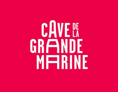 Cave de la Grande Marine - Brand design