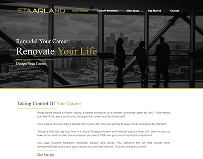 STAARLAND | Remodel Your Career